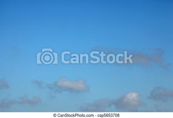 Cumulus Clouds - csp5653708