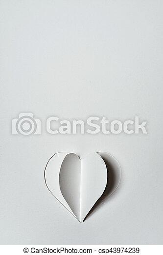 cuore, carta - csp43974239