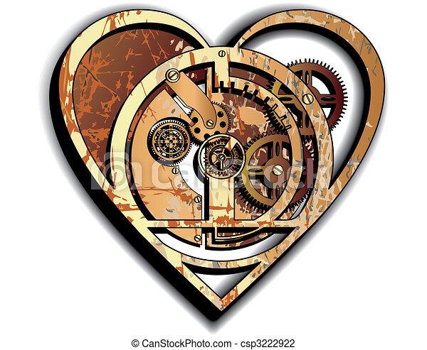 cuore, meccanico - csp3222922