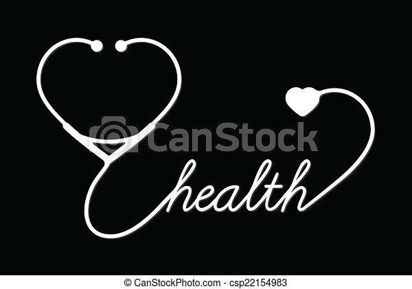 cuore, stetoscopio - csp22154983
