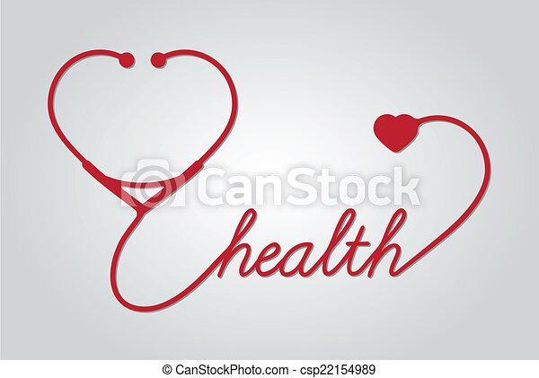 cuore, stetoscopio - csp22154989
