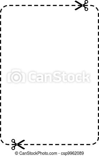 Un cupón de vectores - csp9962089