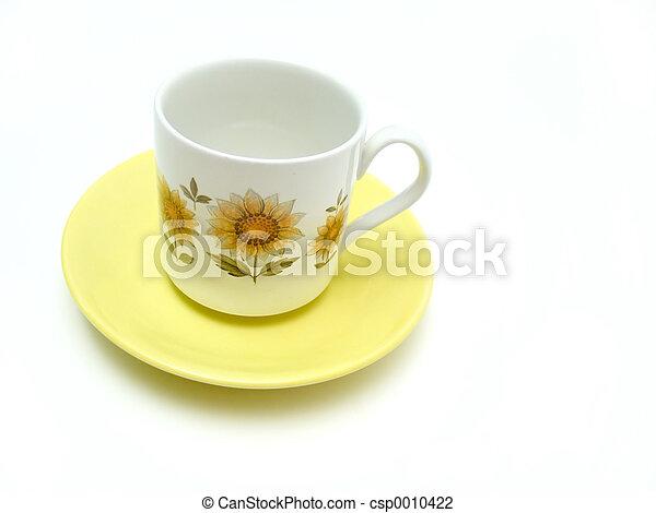 Cup and Saucer - csp0010422