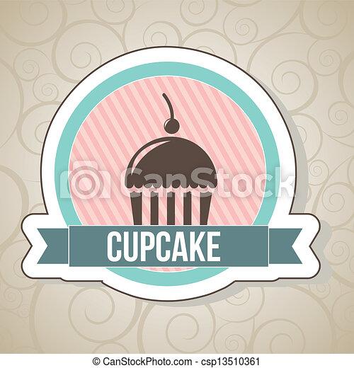 cup cake - csp13510361