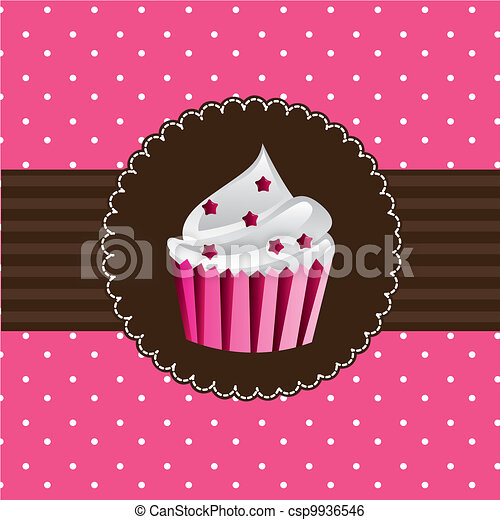 cup cake - csp9936546