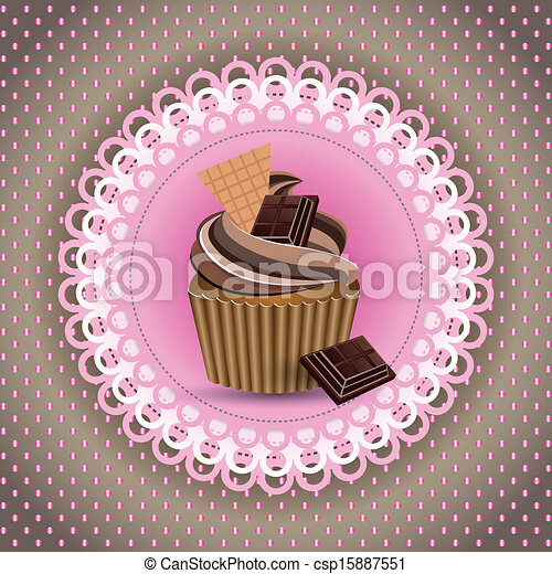 cup cake - csp15887551