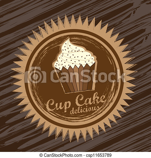 cup cake  - csp11653789