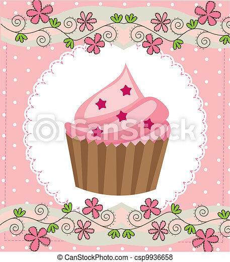 cup cake - csp9936658