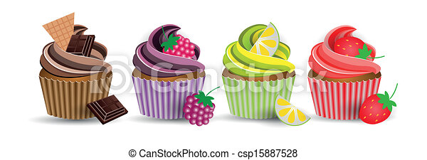 cup cake - csp15887528