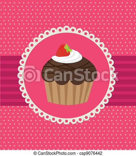 cup cake - csp9076442