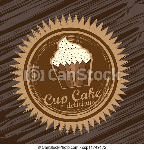 cup cake  - csp11749172