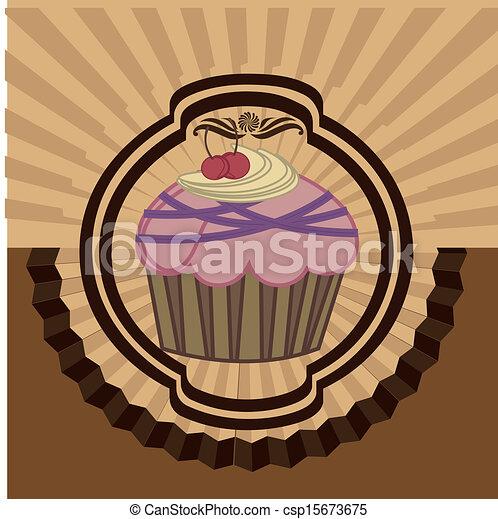 cup cake - csp15673675