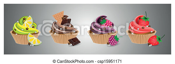 cup cake - csp15951171