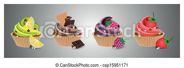 cup cake - csp15951171