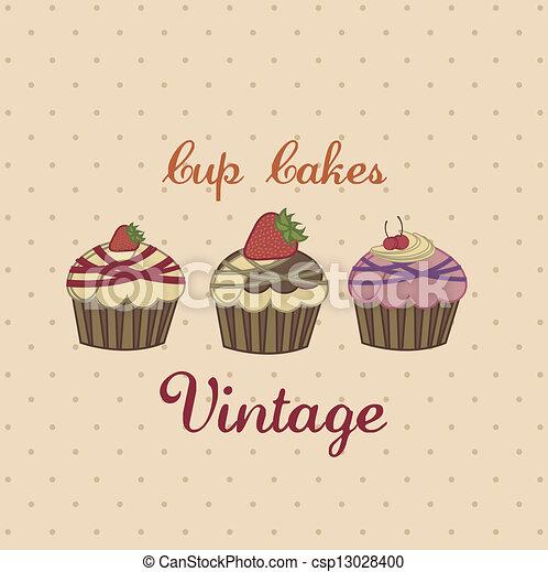 Cup cake - csp13028400