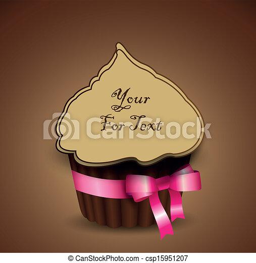 cup cake - csp15951207