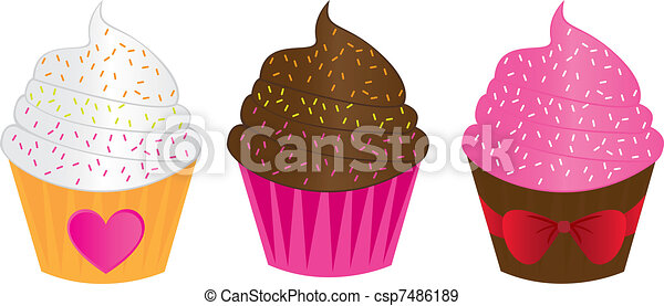 cup cakes  - csp7486189