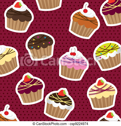 cup cakes - csp9224974