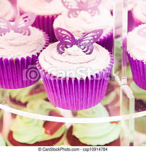 Cup cakes - csp10914784