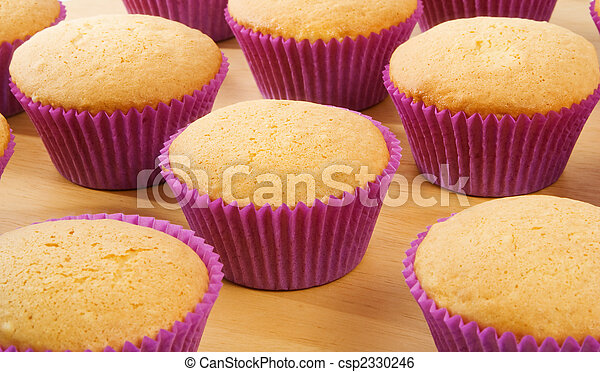 Cup Cakes - csp2330246