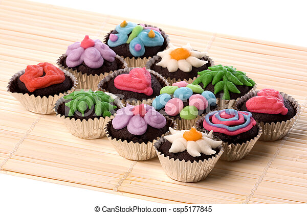 Cup Cakes - csp5177845