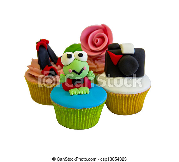 cup cakes - csp13054323