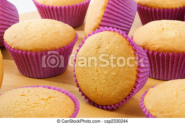 Cup Cakes - csp2330244