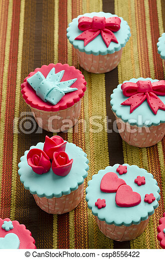 cup cakes - csp8556422