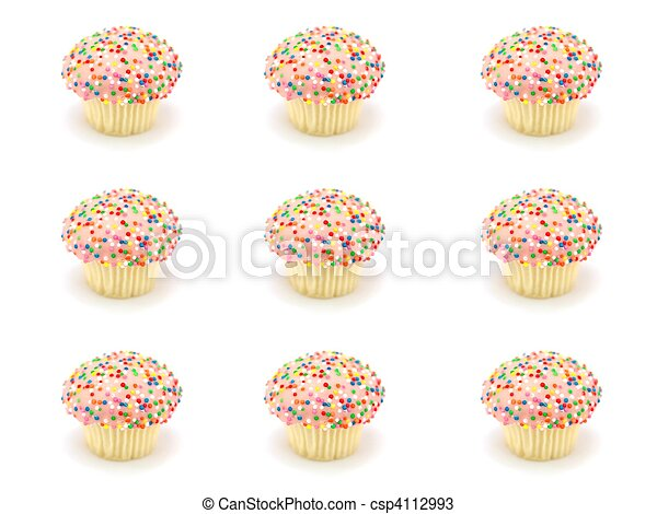 Cup Cakes - csp4112993
