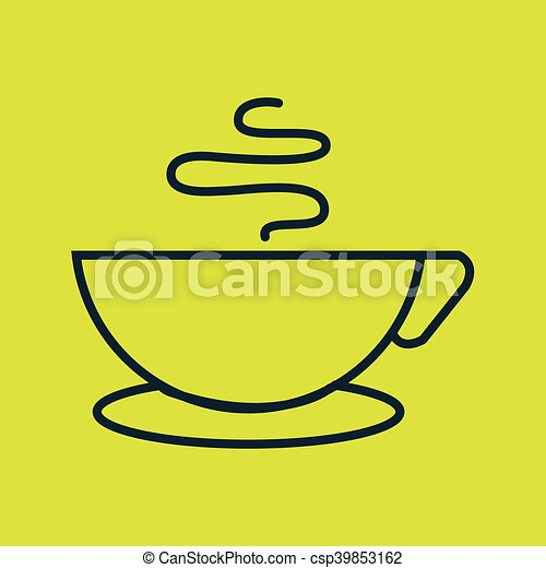 cup coffee drink icon - csp39853162