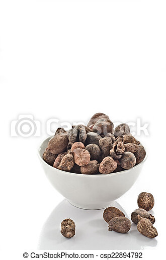 Cup full of shea nuts - csp22894792