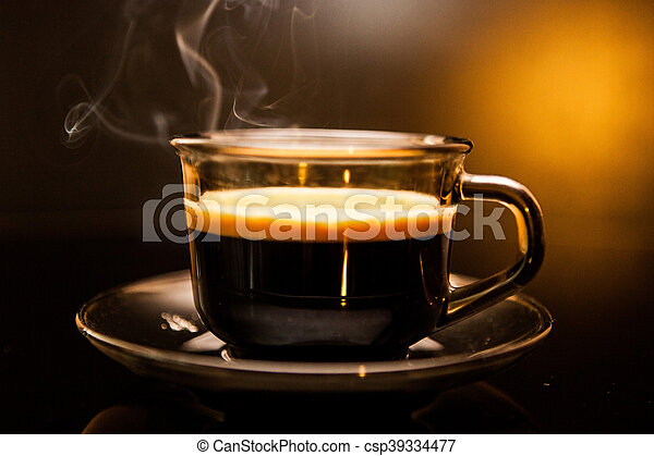 Cup of coffee - csp39334477