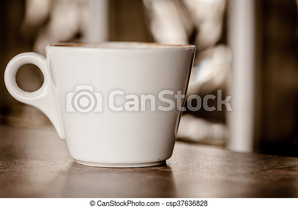 Cup Of Coffee - csp37636828