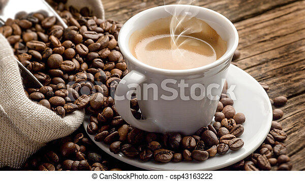 Cup of coffee - csp43163222