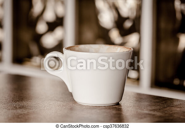 Cup Of Coffee - csp37636832