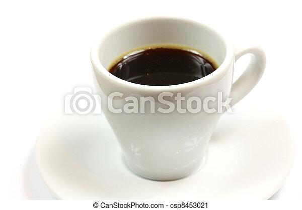 Cup of espresso - csp8453021