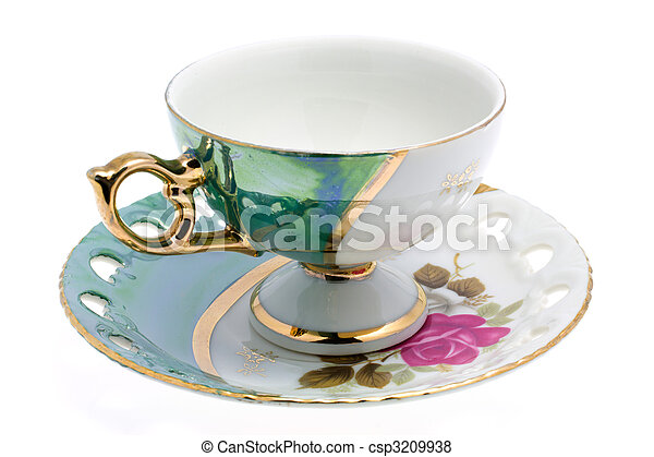 cup on saucer - csp3209938