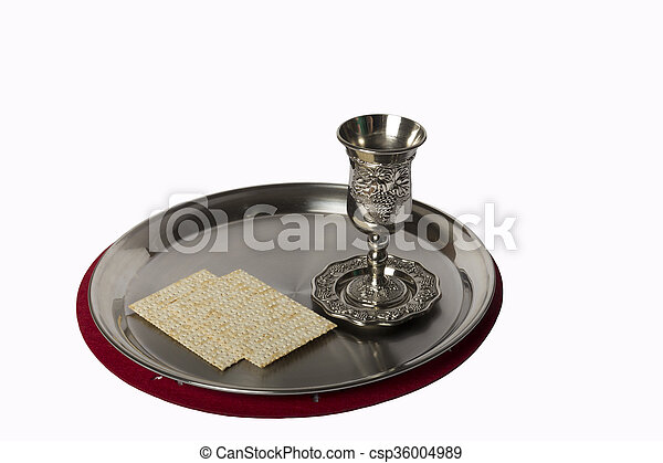 cup with a tray - csp36004989