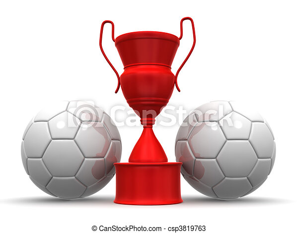 Cup with two ball - csp3819763