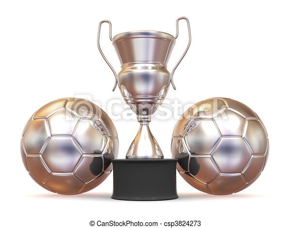 Cup with two ball - csp3824273