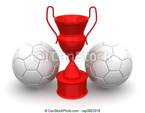 Cup with two ball - csp3823318