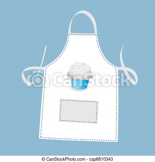 Cupcake apron - csp6810343