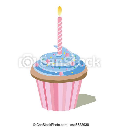 cupcake - csp5833938