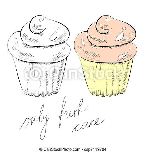 Cupcake - csp7119784