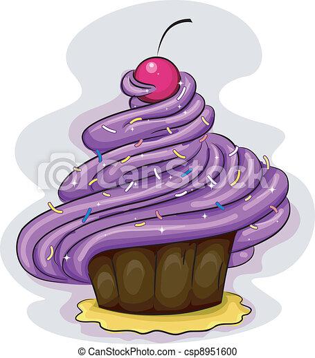 Cupcake Icing - csp8951600