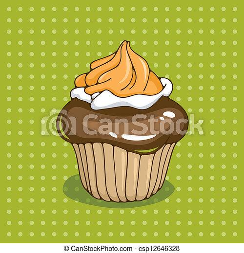 Cupcake - csp12646328