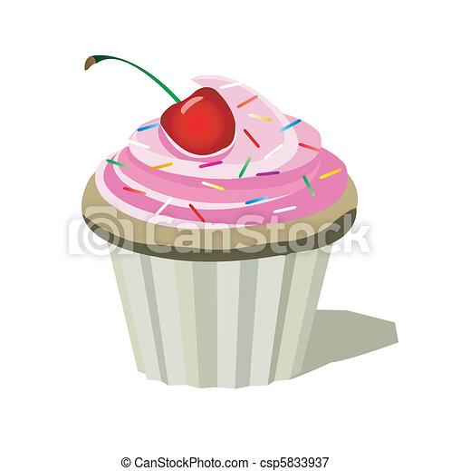 cupcake - csp5833937