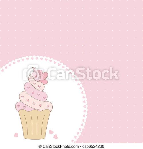 Cupcake.  - csp6524230