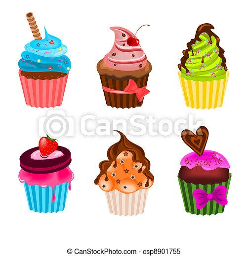Cupcakes - csp8901755