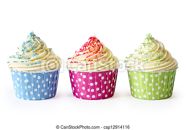 Cupcakes - csp12914116